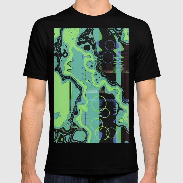 Wrinkle lines T-shirt