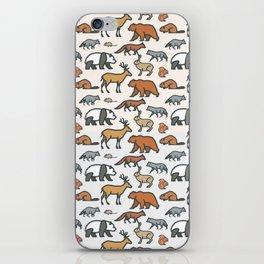 Animal pattern iPhone Skin