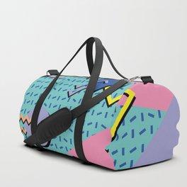 Memphis Pattern 14 - 80s Retro Duffle Bag