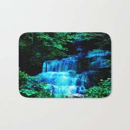 Enchanted waterfall. Bath Mat