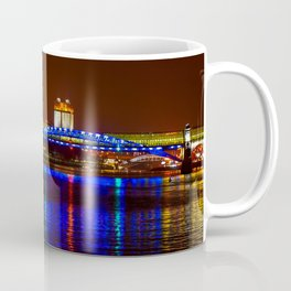 Andreevsky Bridge Over The Moscow River Coffee Mug