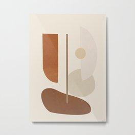 Abstract Minimal Art 09 Metal Print
