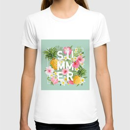 Summer tropical party T-shirt