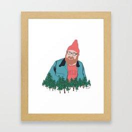 Lumberjack Framed Art Print