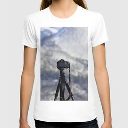 Canon on a Cliff T-shirt