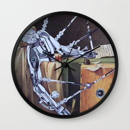 Death and rebirth of Marat Wall Clock