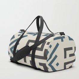 African Tribal Pattern No. 58 Duffle Bag