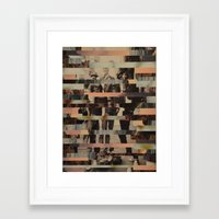 beastie boys Framed Art Prints featuring The Boys by Claire Elizabeth Stringer