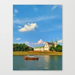 Vistula River Canvas Print