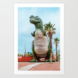 Cabazon Dinosaurs Palm Springs Art Print
