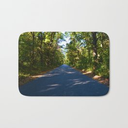 The road to Point Pelee National Park, Southern Ontario, Canada Bath Mat