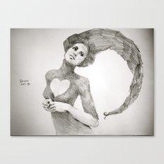 Love Dwarf Canvas Print