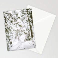 Snowy Branch Stationery Cards