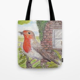 Robin Redbreast and Ginger Tom Tote Bag