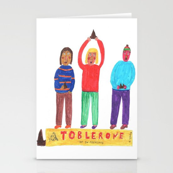Toblerone. Stationery Cards