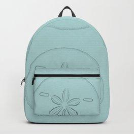Sand Dollar Blessings Large Pattern - Pointilist Art Backpack