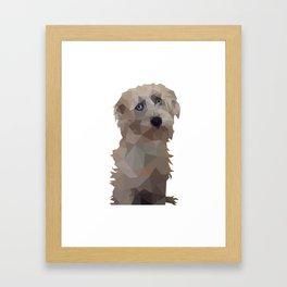 Hobo Teddy Bear Framed Art Print