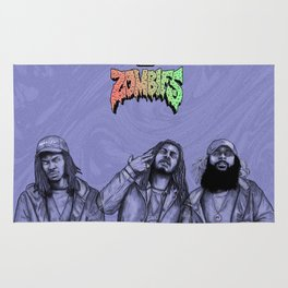 Flatbush ZOMBiES.(alt) Rug