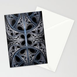Skeletal Hall Fractal Art Stationery Cards