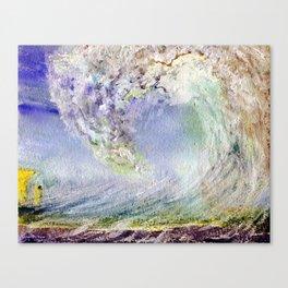 Fury Tsunami by Maureen Donovan Canvas Print
