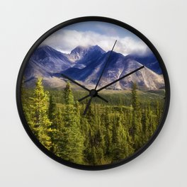The Alaska Range Wall Clock
