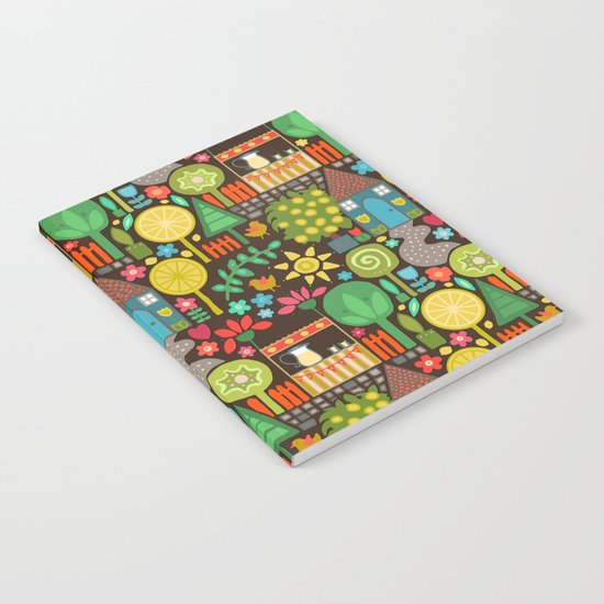 woodland lemonade Notebook