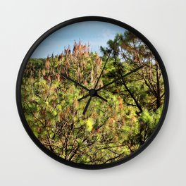 Beyond the Treetops Wall Clock