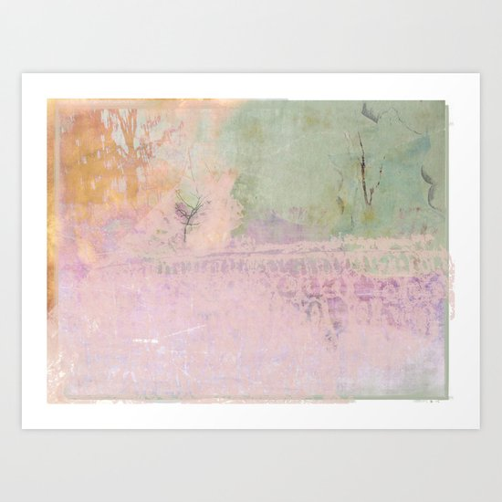 Abstract ~ Landscape Art Print