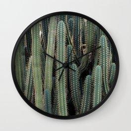 Desert Cacti / Cactus Wall Clock