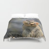 peanuts Duvet Covers featuring Peanuts by RDelean