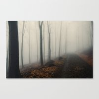 abyss Canvas Prints featuring Abyss by Kamil Sypień
