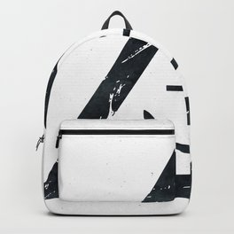 Vintage Anchor Black and White Backpack