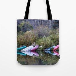 Downtime at Beaver Lake Tote Bag