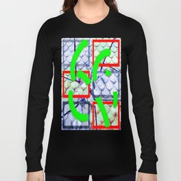 Collage with roof shingles Long Sleeve T-shirt