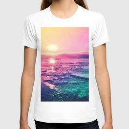 Pastel Sunset Waters T-shirt
