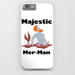 Majestic Mer man 9 iPhone Case