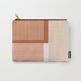Shiba in Terracotta Carry-All Pouch