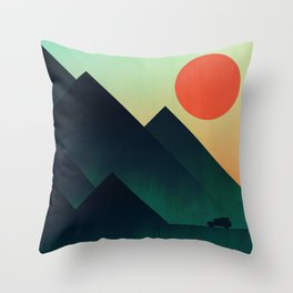 World to see Throw Pillow