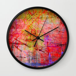 the city 35b Wall Clock