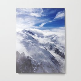 French Alps 01 Metal Print