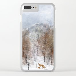 nature will find a way deux Clear iPhone Case