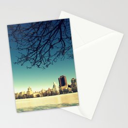 Frozen shadows Stationery Cards
