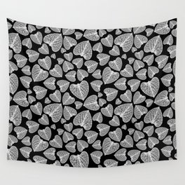 Black White Pattern Wall Tapestry