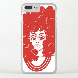 FroReal Red Clear iPhone Case