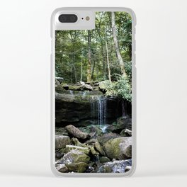 Surrounded by Peace Clear iPhone Case