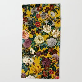 Exotic Garden V Beach Towel