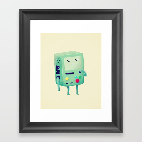 Who Wants To Play Video Games? Framed Art Print