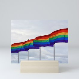 Pride Flags Mini Art Print