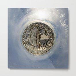 Haut de Paris // The Top of Paris Metal Print