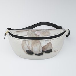 Cuddly Donkey Watercolor Fanny Pack